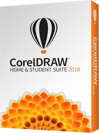 Corel CorelDRAW Home & Student Suite 2018 (ESDCDHS2018ROEU)