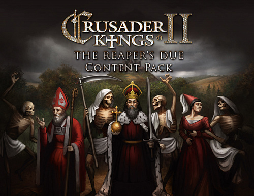 Право на использование (электронный ключ) Paradox Interactive Crusader Kings II: The Reaper's Due - Content Pack